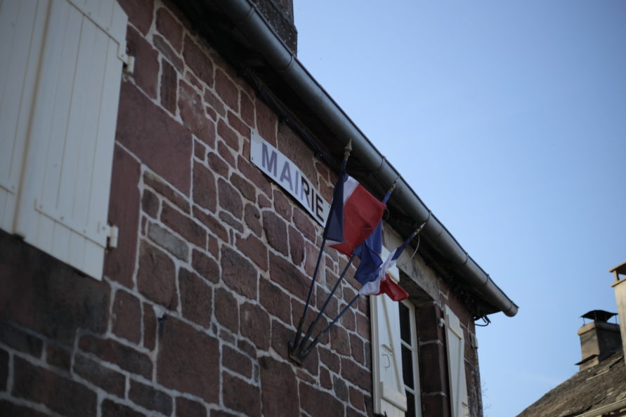 Devanture mairie